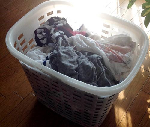 洗濯の効率の良い干し方を考えた記事とか