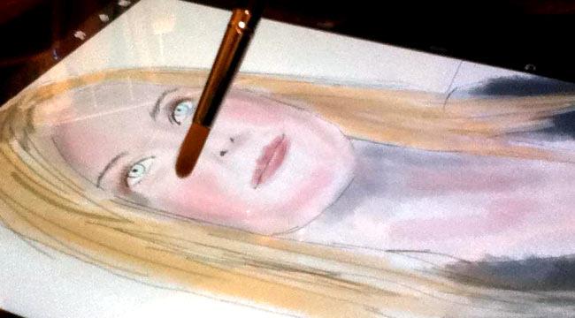 Sensu Brushで水彩を描く