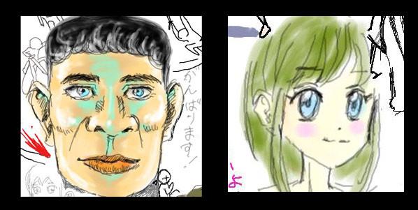 私の描いたイラスト