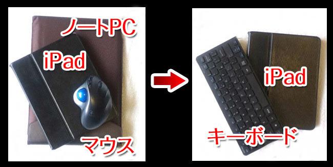 キーボード購入前と比較