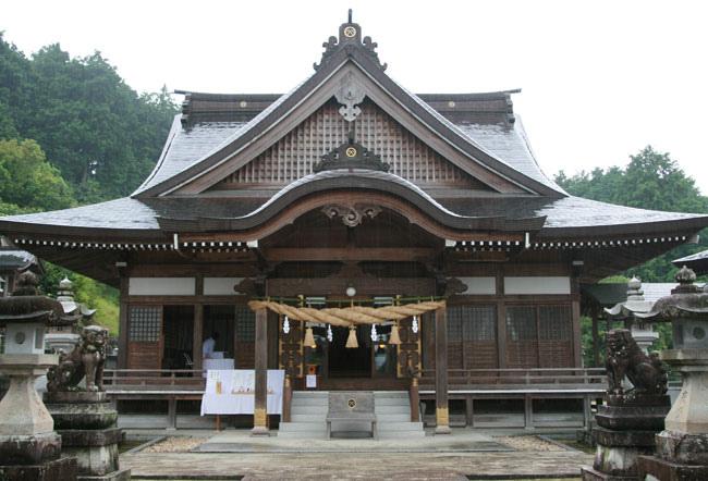 これが粟井神社です。