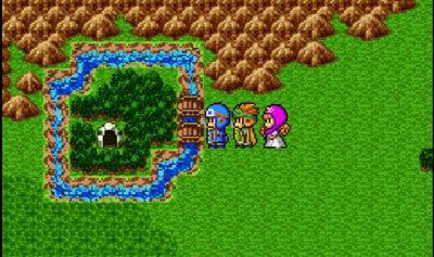 「銀のカギ」のある湖の洞窟へ。