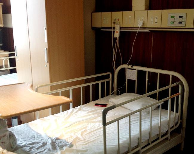 バセドウ病の入院生活