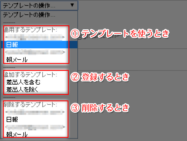 Template Switcherの使い方