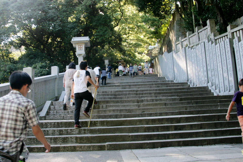 こんぴらさんの階段は何段?