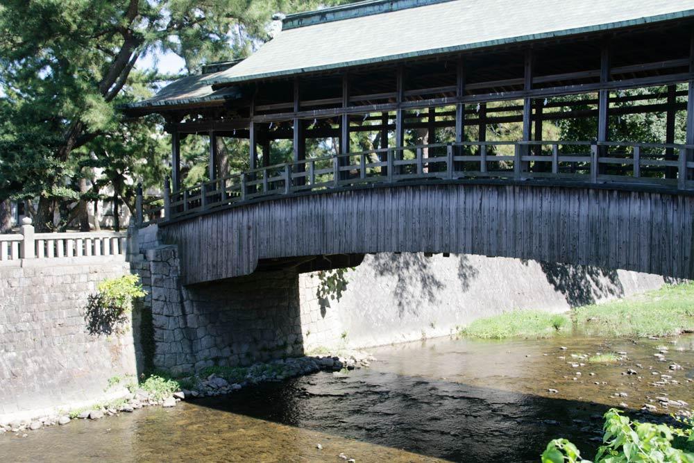 鞘橋は普段は封鎖。