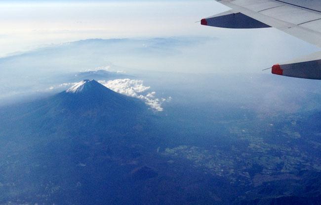 富士山を初めて見た