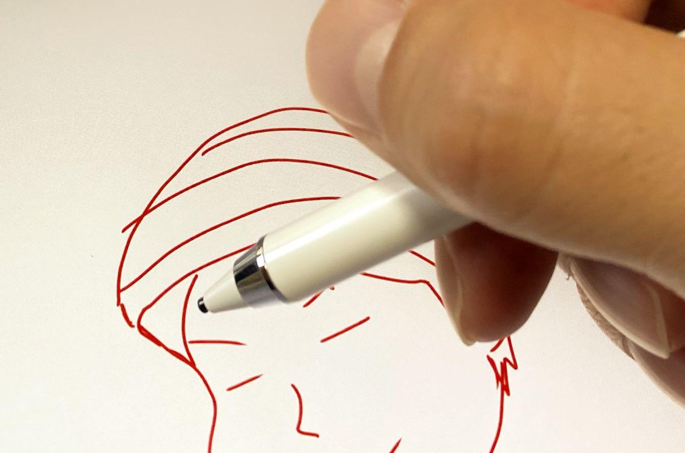 電気によってペン先を細く開発することができるように