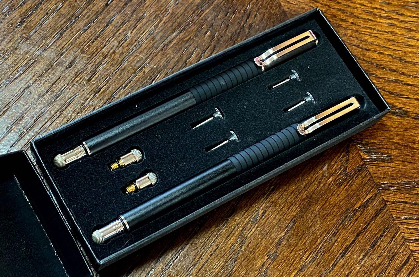 付属のペン先が6つも