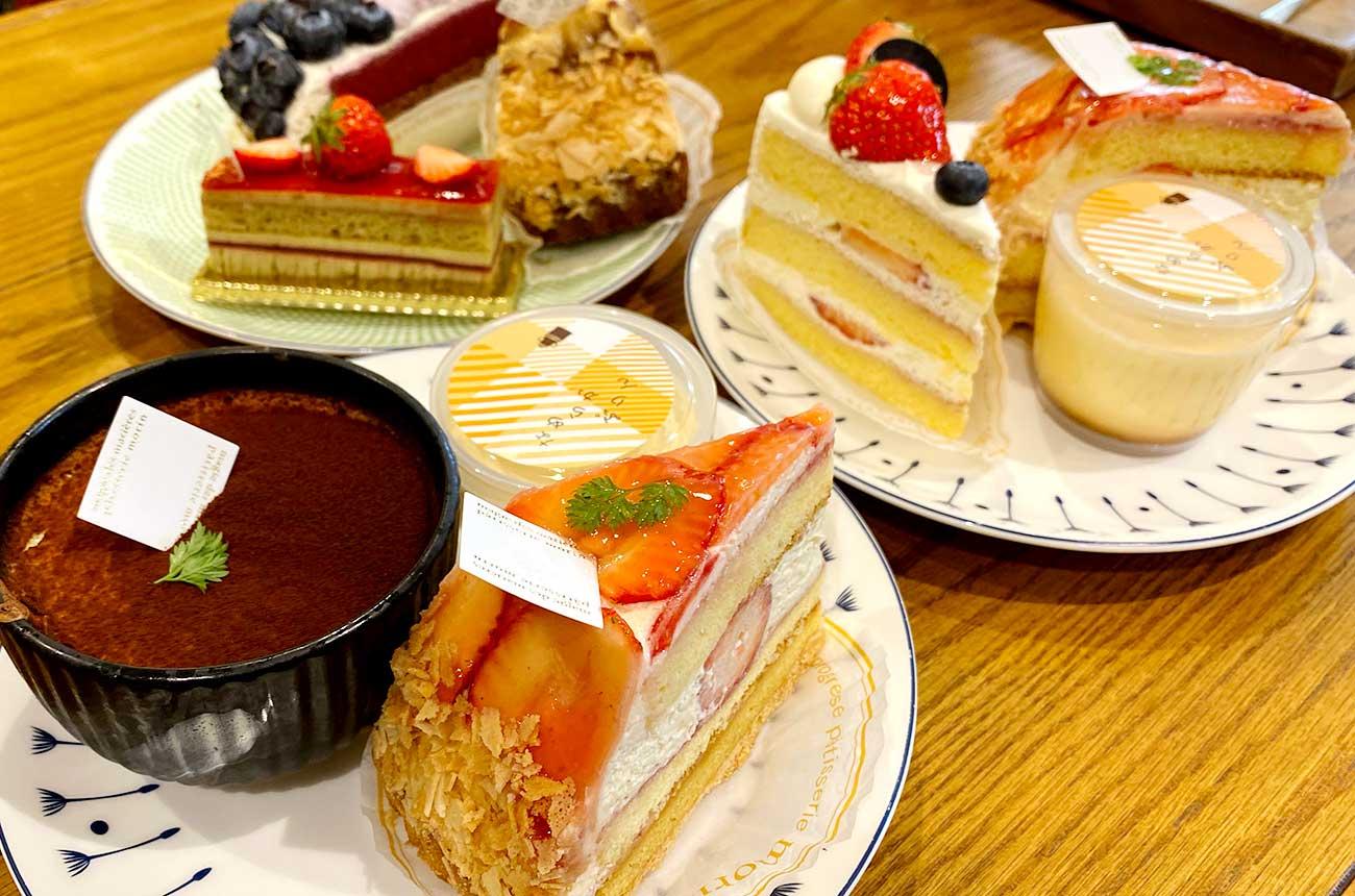 家族のケーキもいっしょに