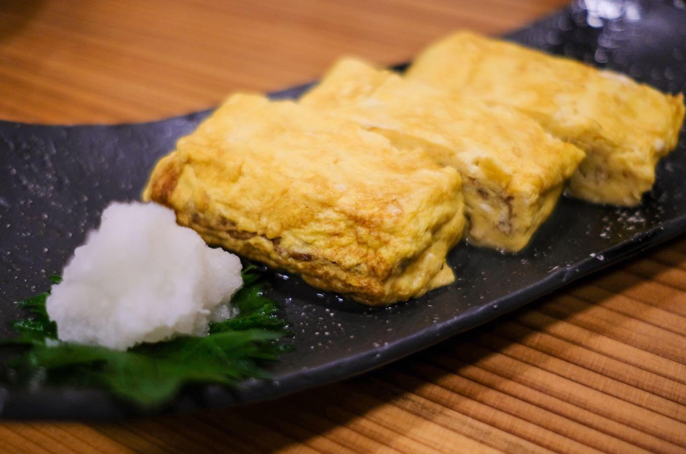 出汁巻き卵(450円)
