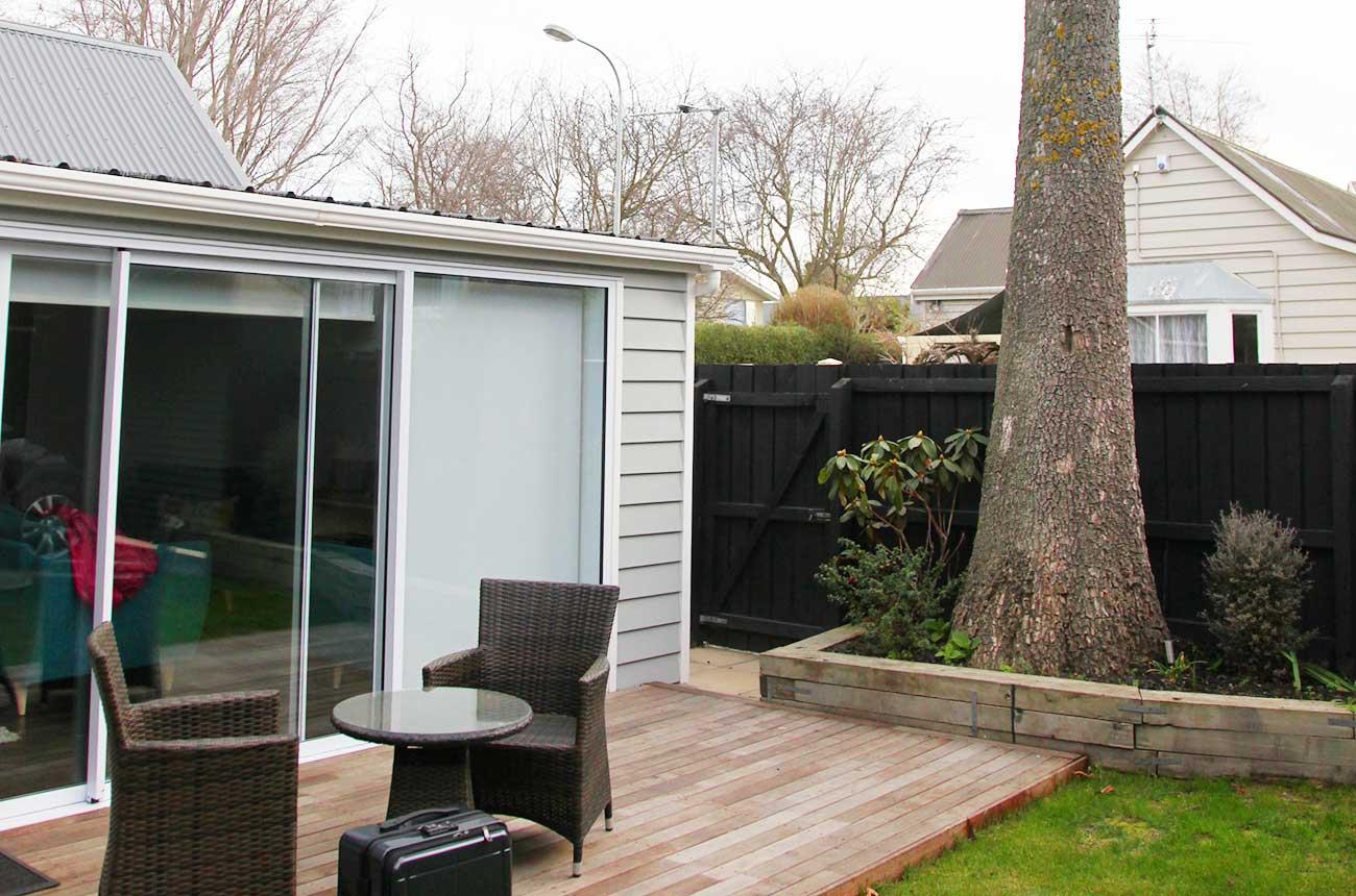 ニュージーランドで借りた家