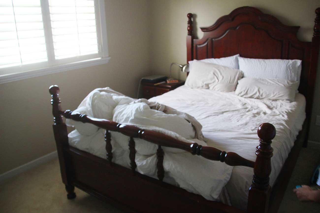 カナダで借りた部屋