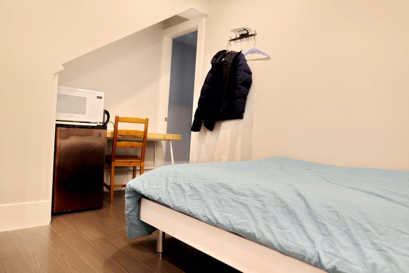 日本のワンルームのような部屋