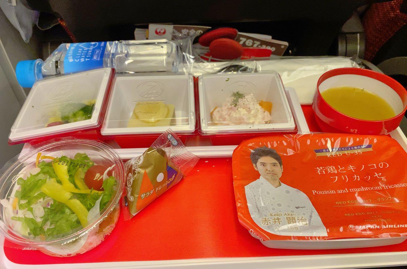 JALの夕食