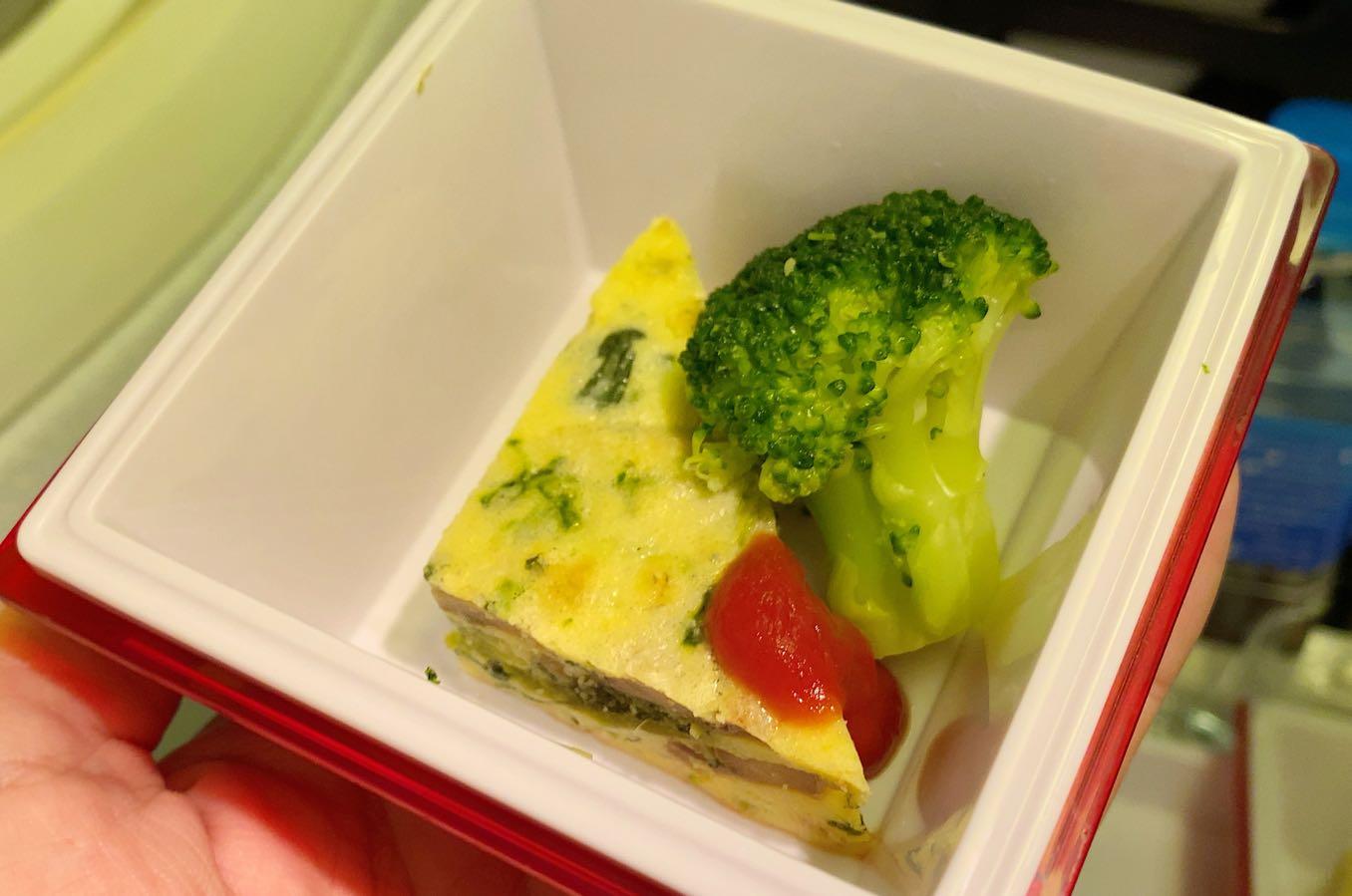 野菜のオムレツ