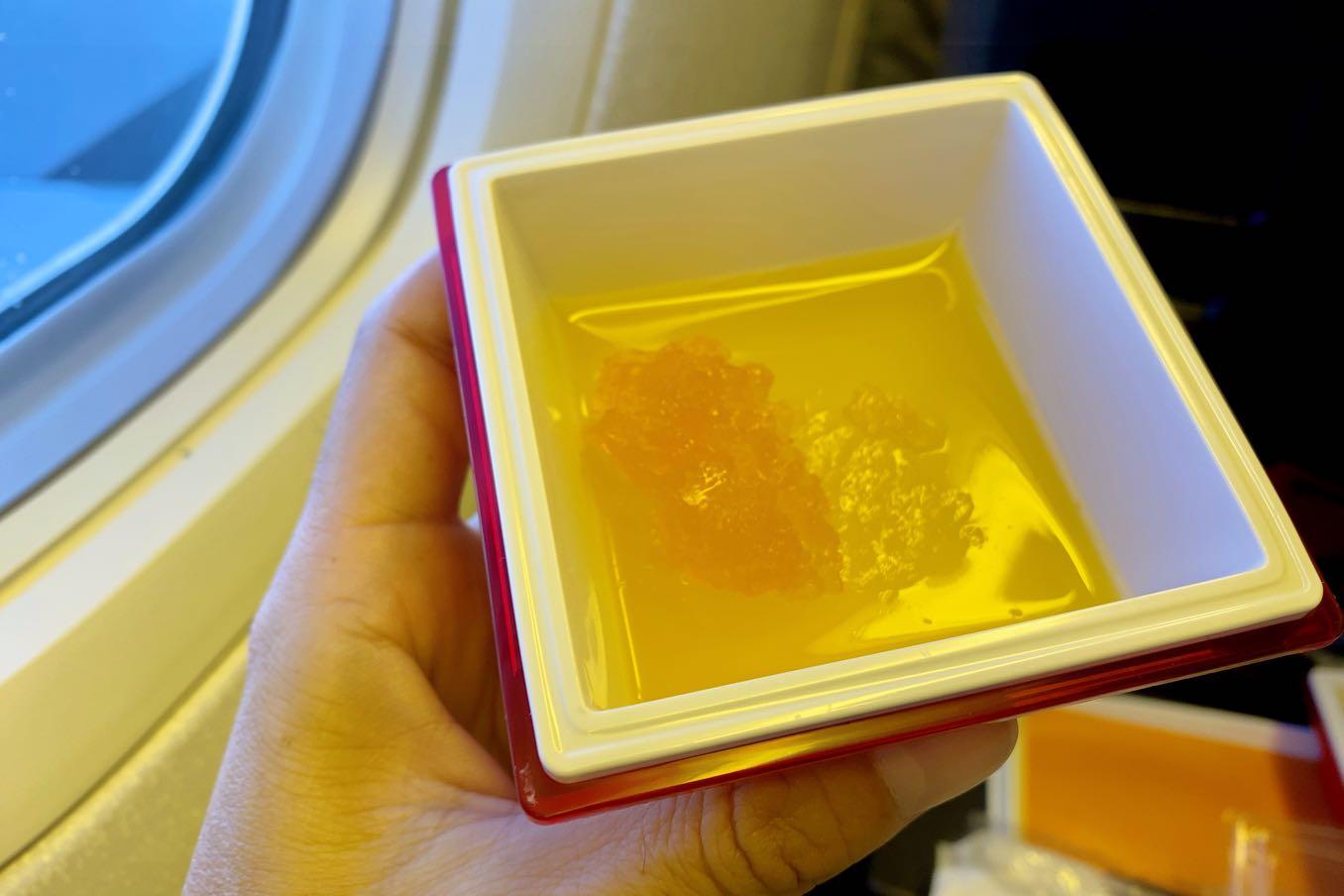 パッションフルーツゼリー×ブラッドオレンジゼリー