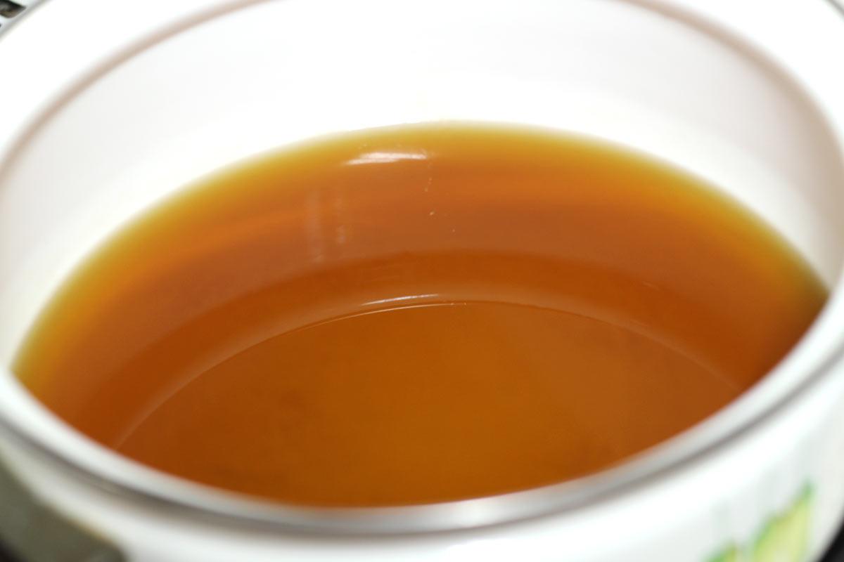 赤門屋の特製スープの香りがめちゃいい