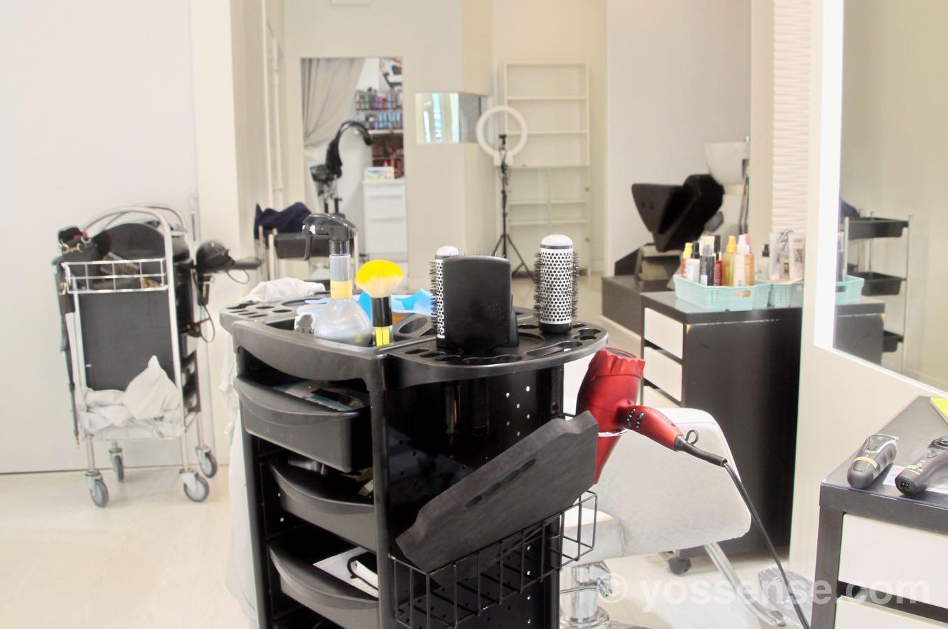 美容師の中の様子