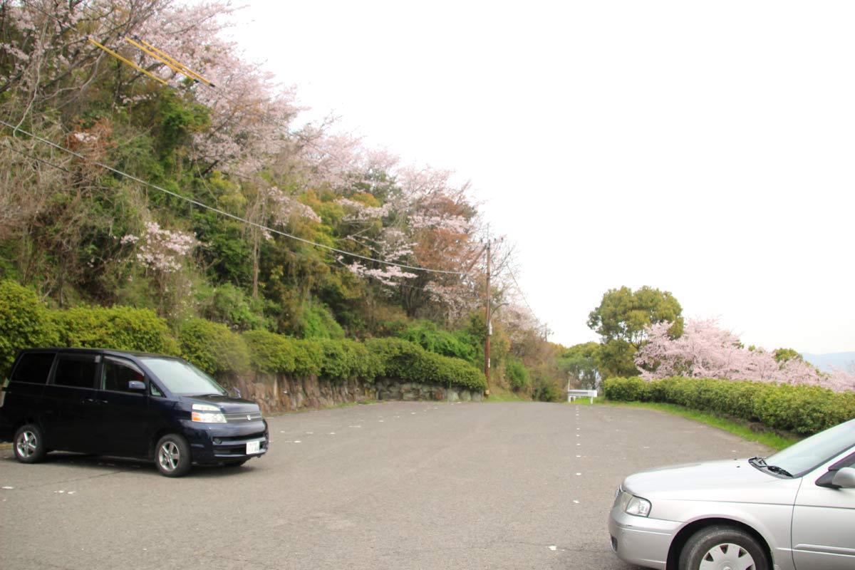 青ノ山の駐車場