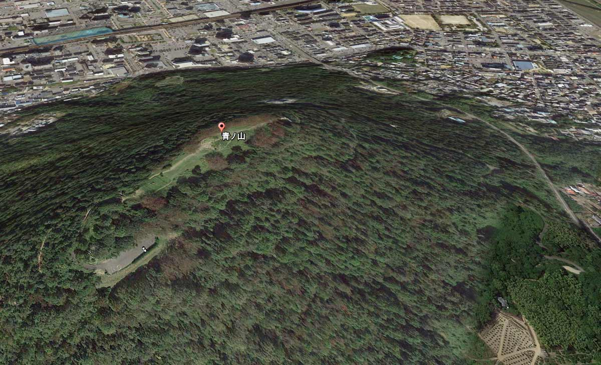 Google Earthで見るとこんな感じ