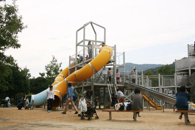 あすたむらんど徳島の大型遊具