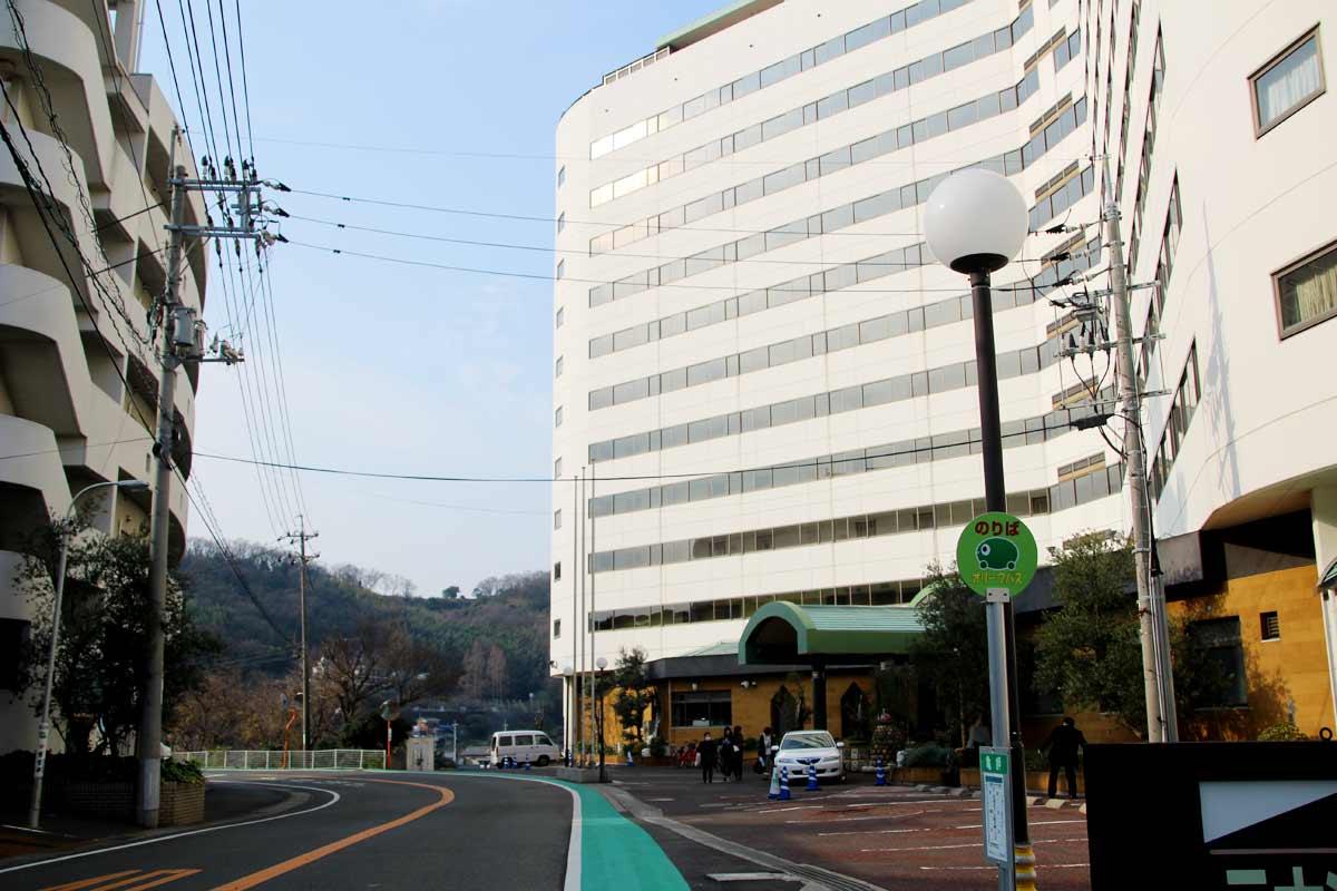 ベイリゾートホテル小豆島の外観