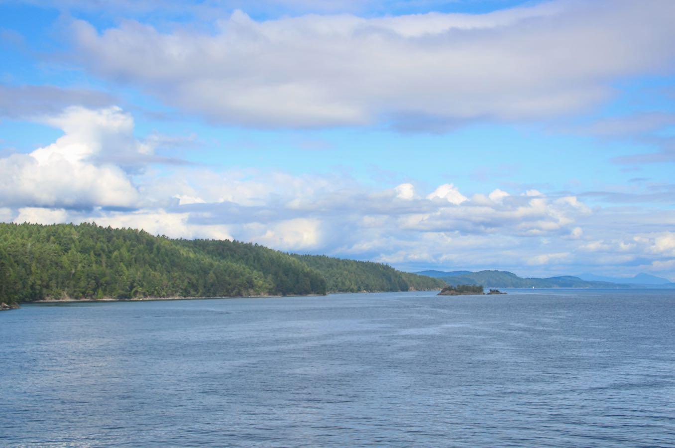 島が見える