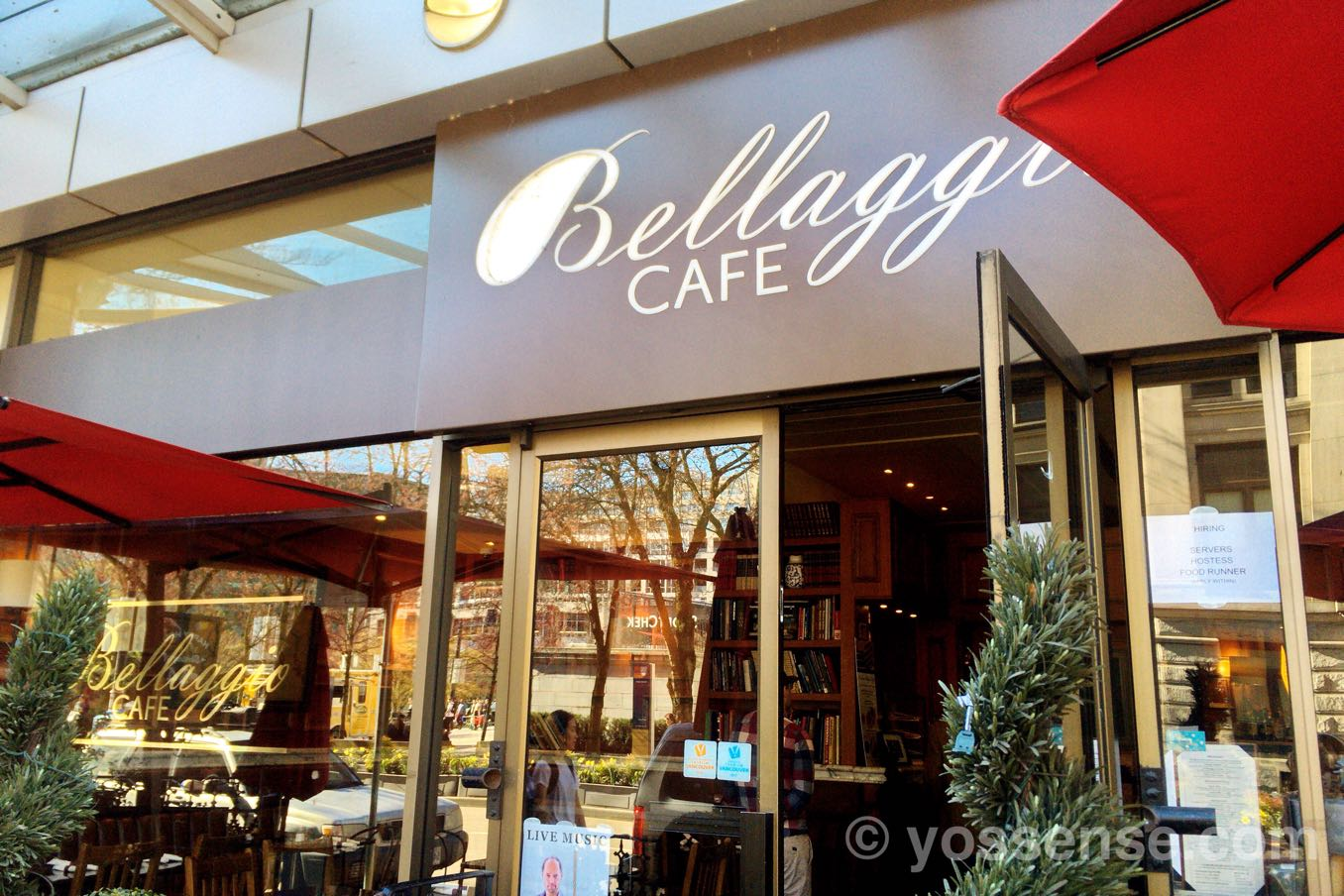 Bellaggio Cafeの入り口