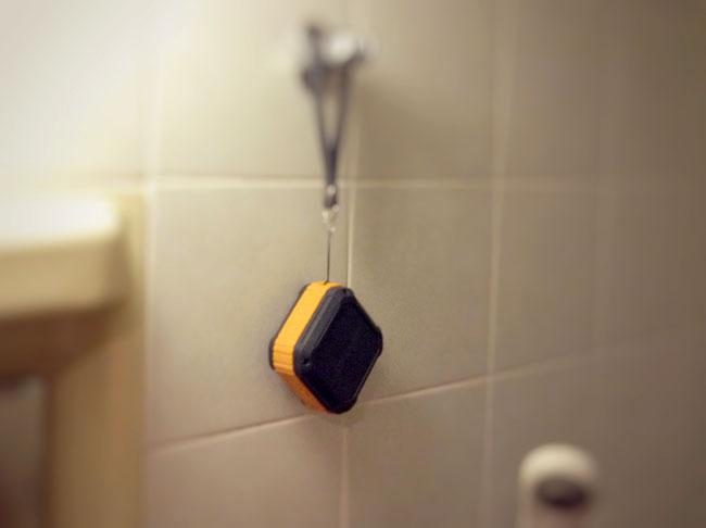 お風呂で使用したときに便利
