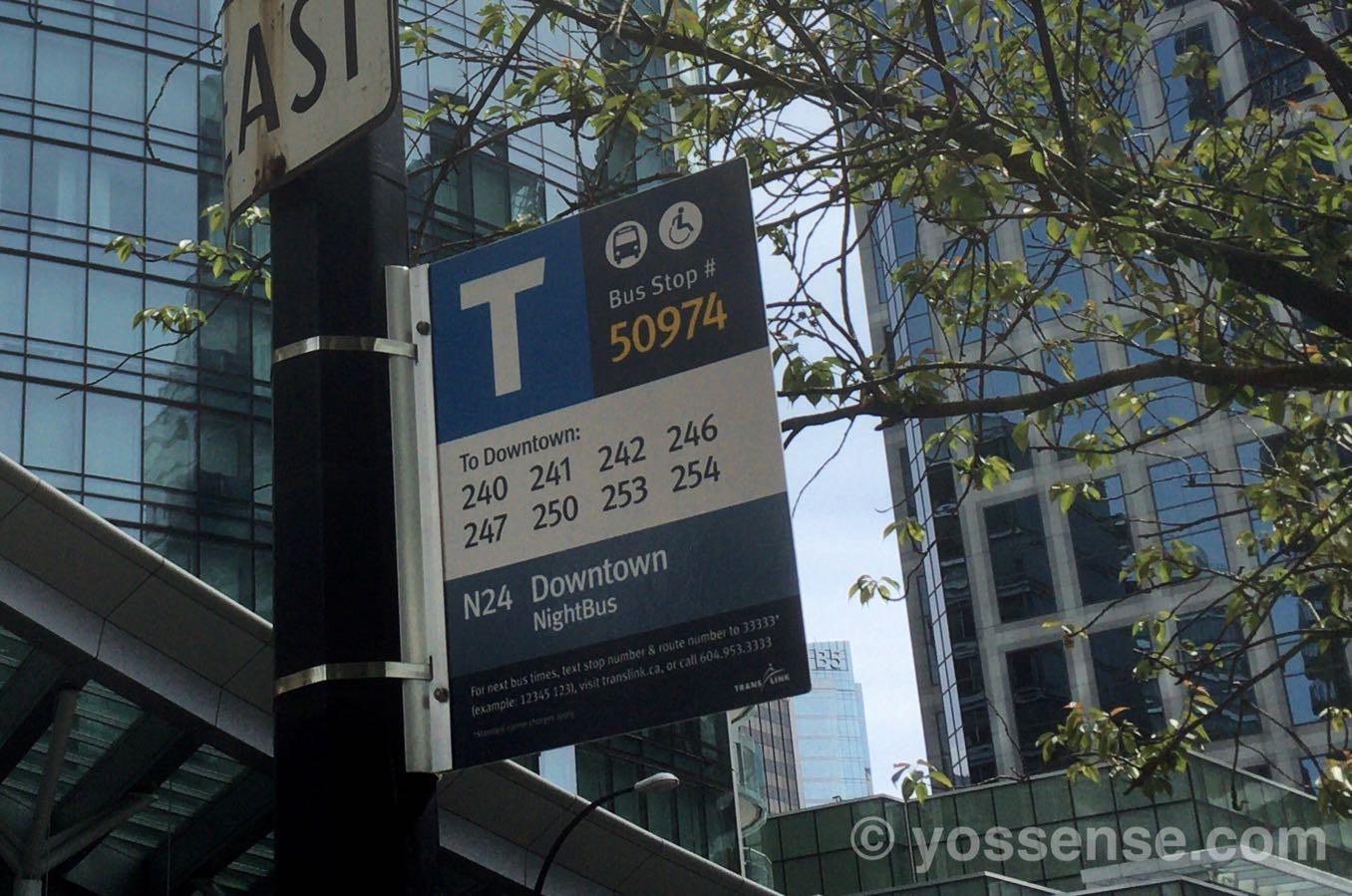 バスは「番号」で管理されている