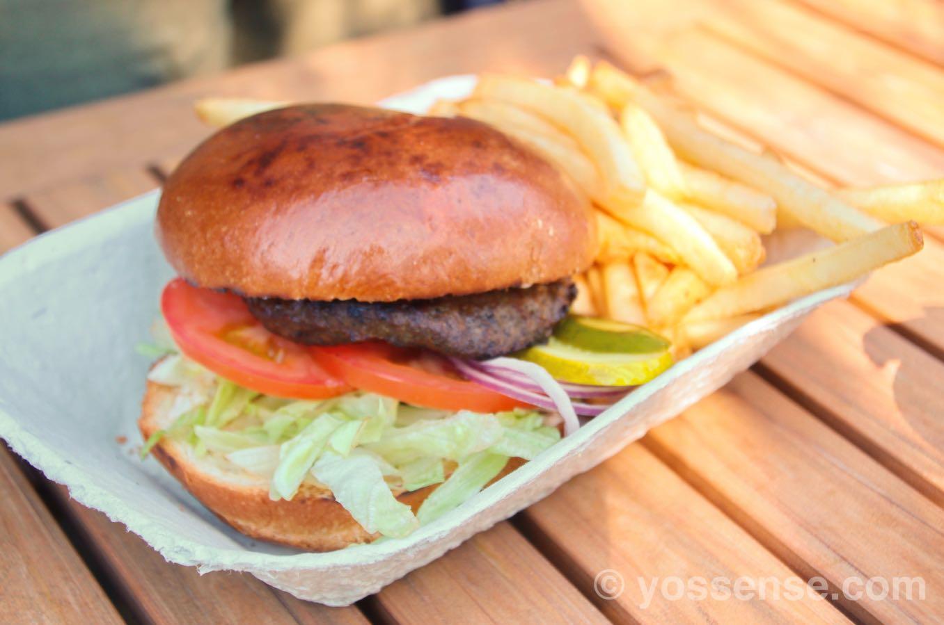 Beef Burger($14.50)