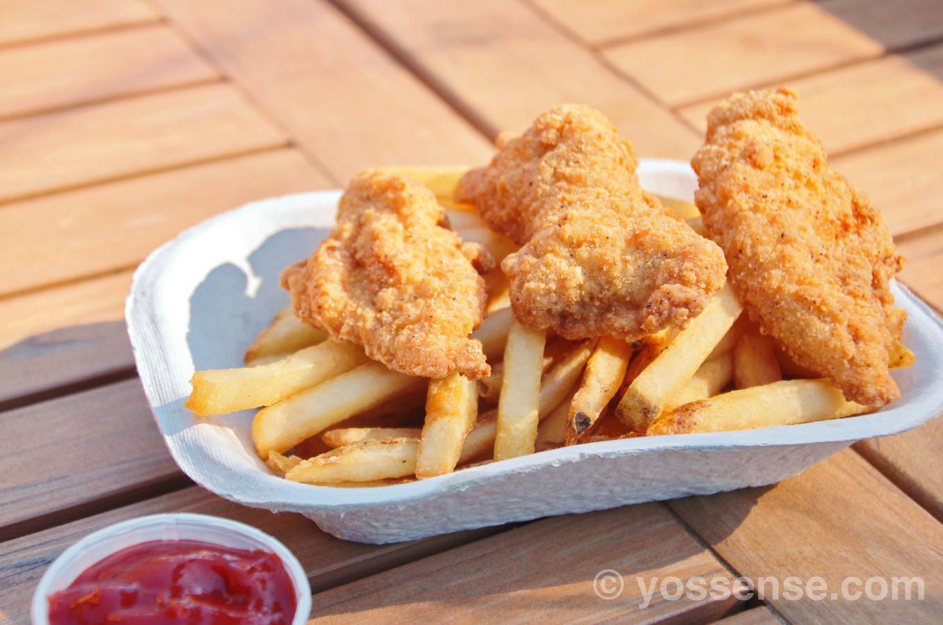 Chicken Strips($14.50)