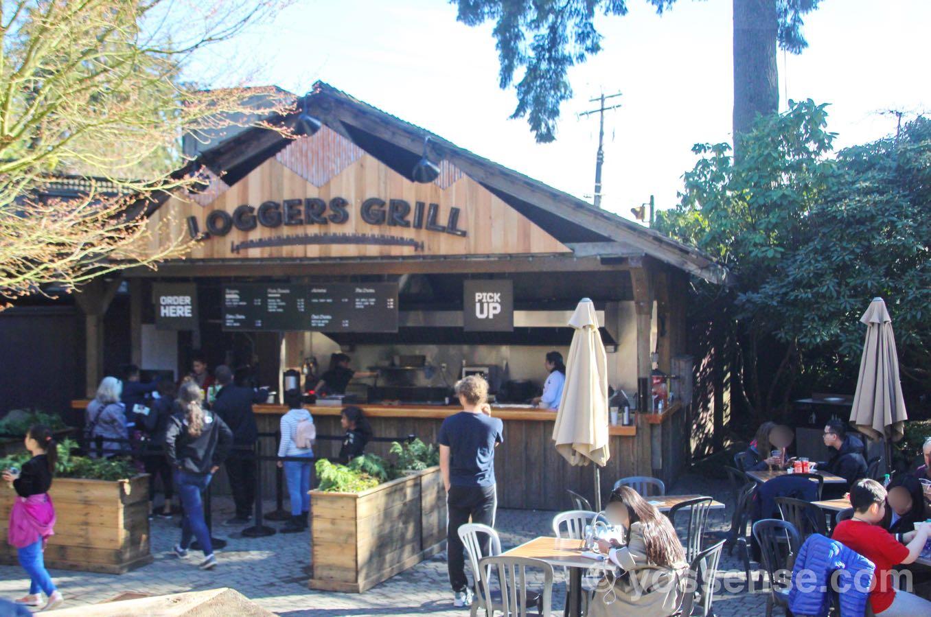 レストラン「Loggers' Grill(ロガ・グリル)」