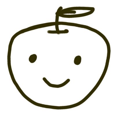 リンゴを擬人化