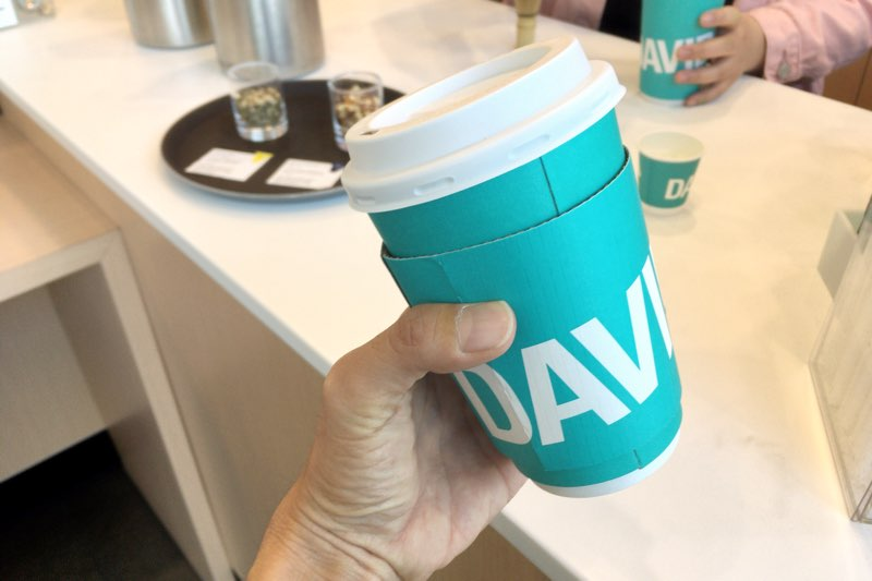 DAVIDsTEAのカップ