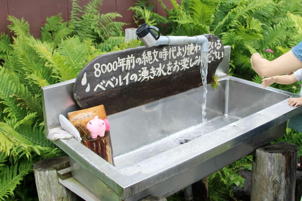 もちろん湧き水は飲めます