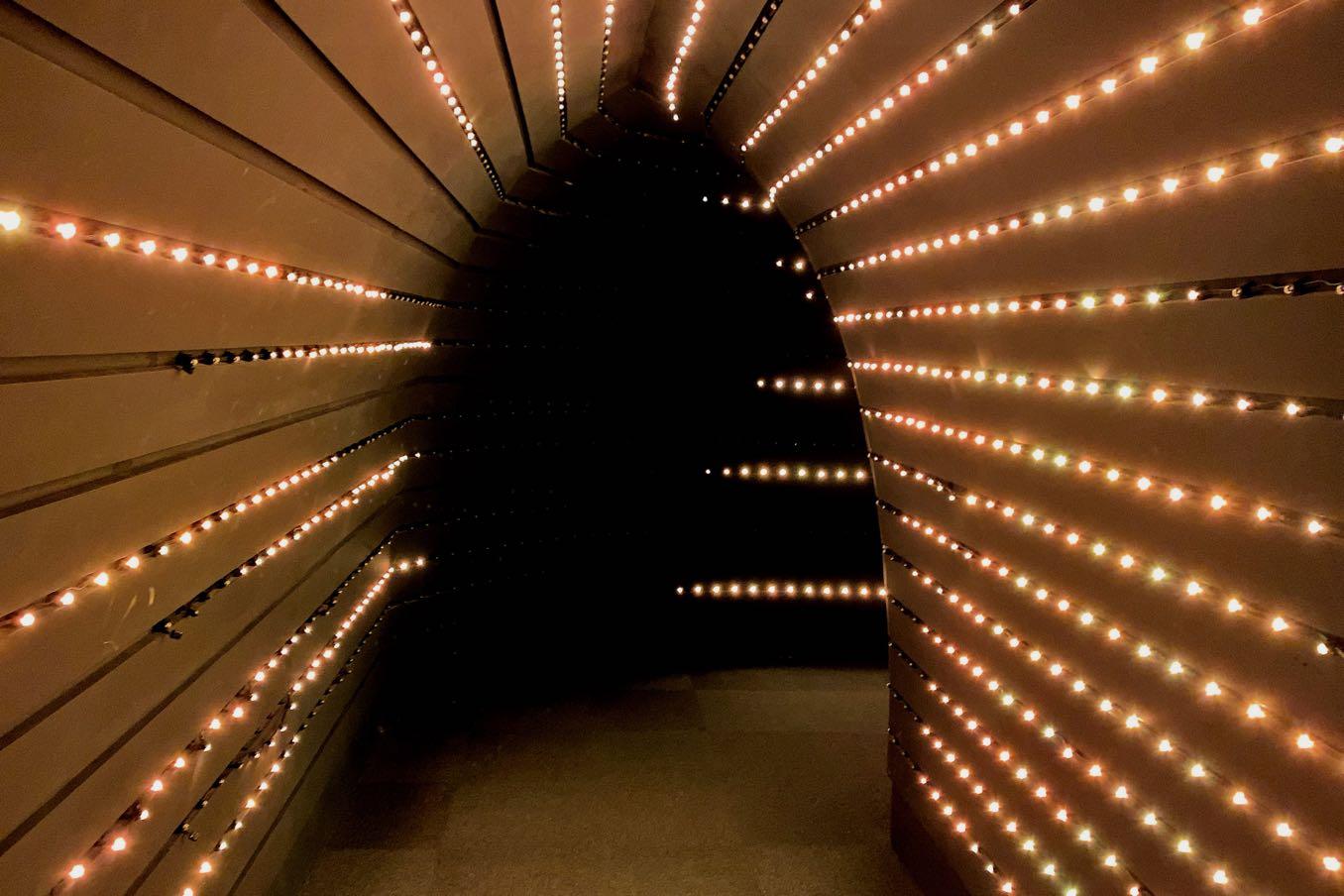 キラキラのトンネル