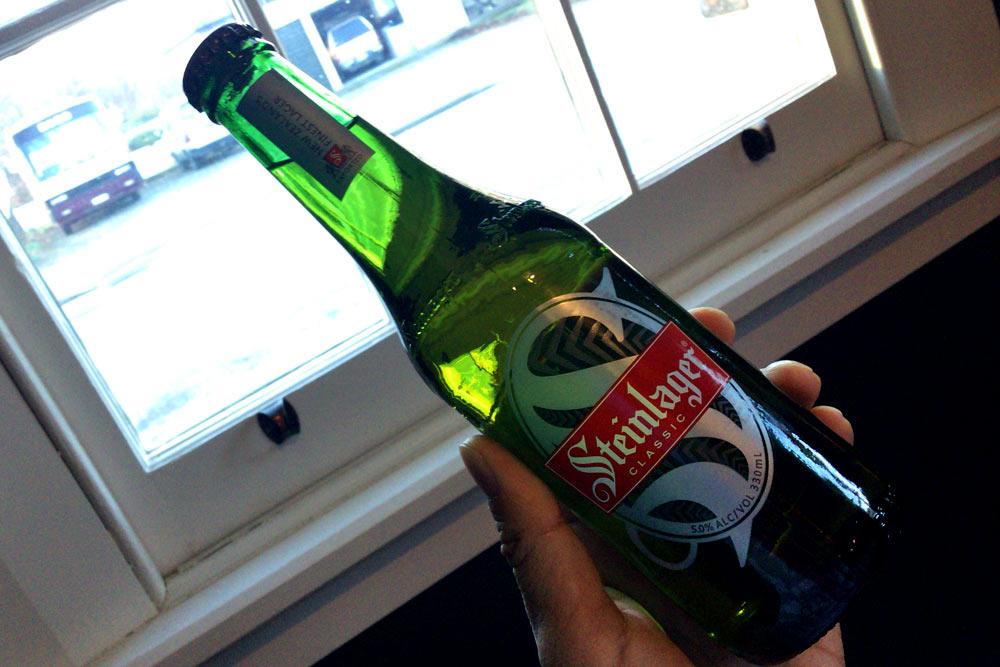 Steinlagerというニュージーランド産ビール
