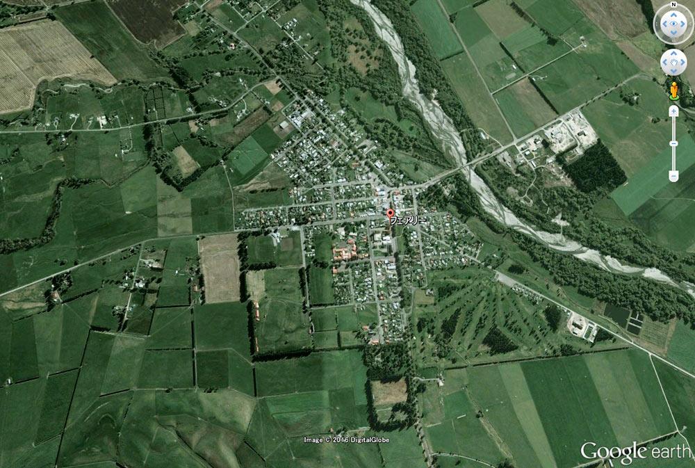 Fairlie(フェアリー)の町並み