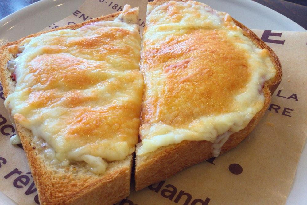 フェリーチェのハムチーズトースト