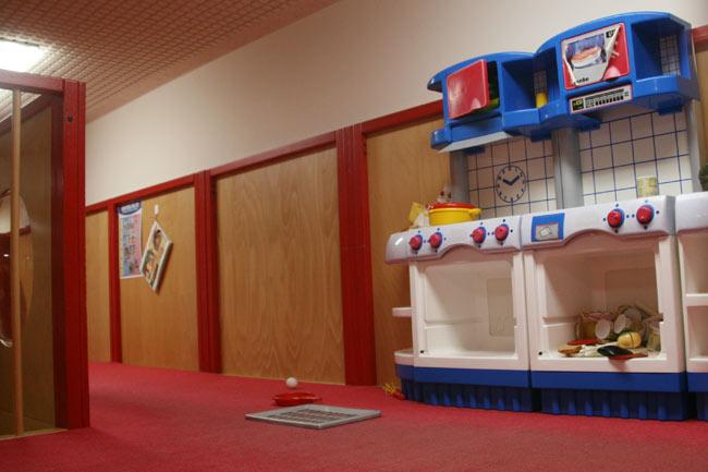 プレイハウスの二階