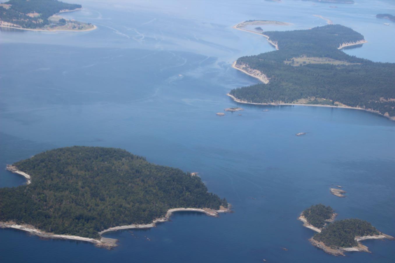 島がいっぱいある