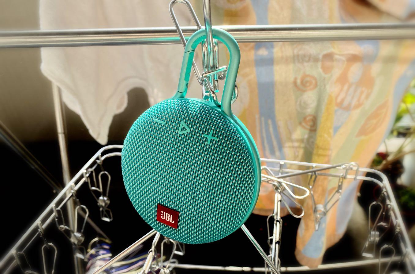 洗濯を干しながら音楽を高音質で