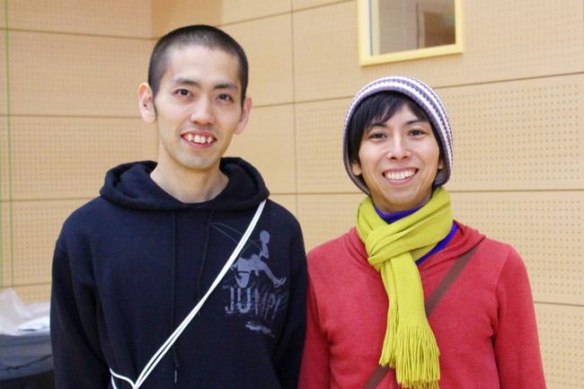 粕尾さんとヨス