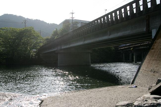 汗見川にかかる橋