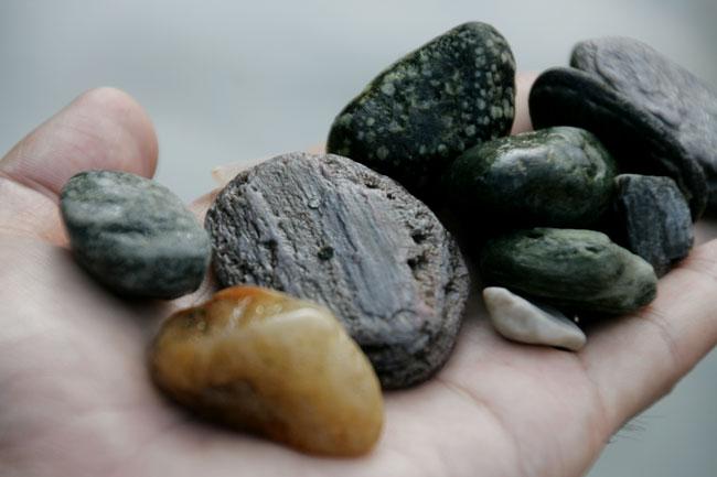 石もめっちゃ綺麗