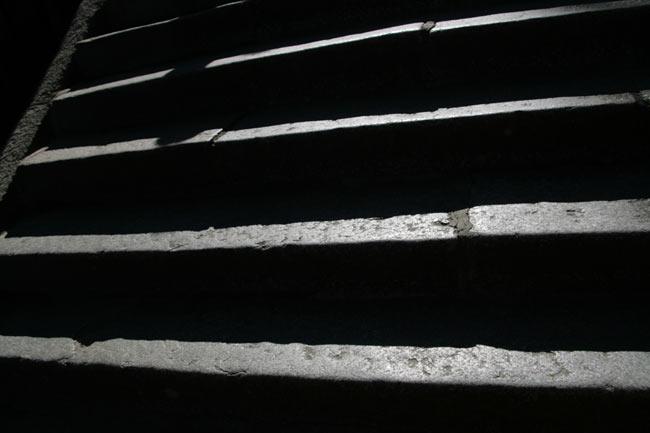 桜馬場を越えるとまたしても階段
