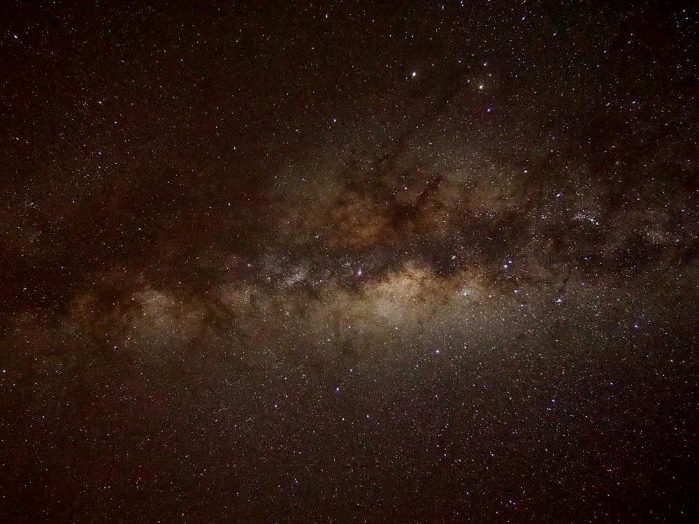 テカポ湖から見る「天の川」がすごい
