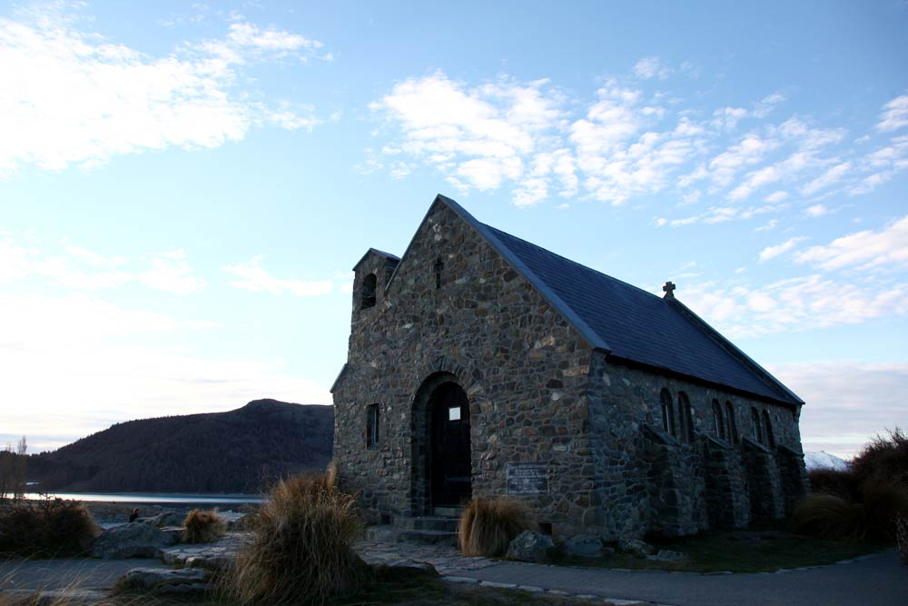「善き羊飼いの教会」はレンガが美しい